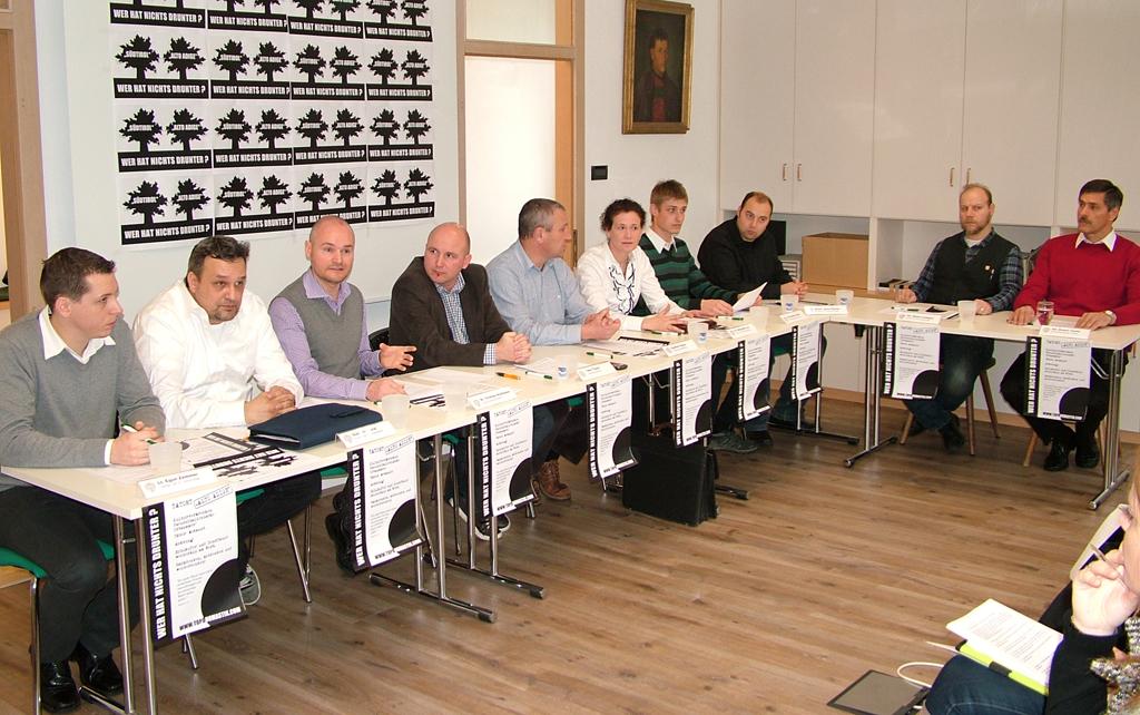 "Pressekonferenz der Sonderkommission Tatort ""Alto Adige"""