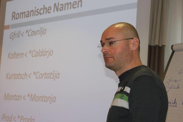Toponomast Dr. Cristian Kollmann