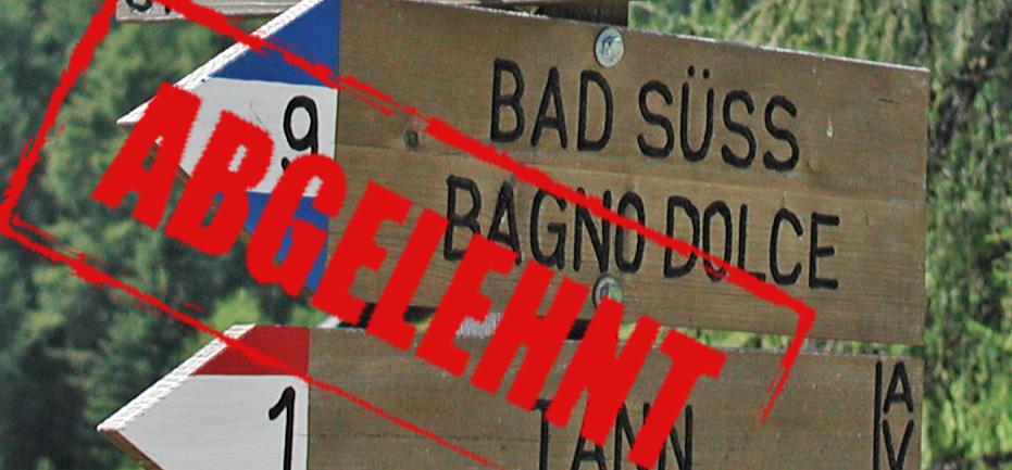 Touristen in Gefahr? Übersetzung von Warnhinweisen ja, nicht aber von Namen!