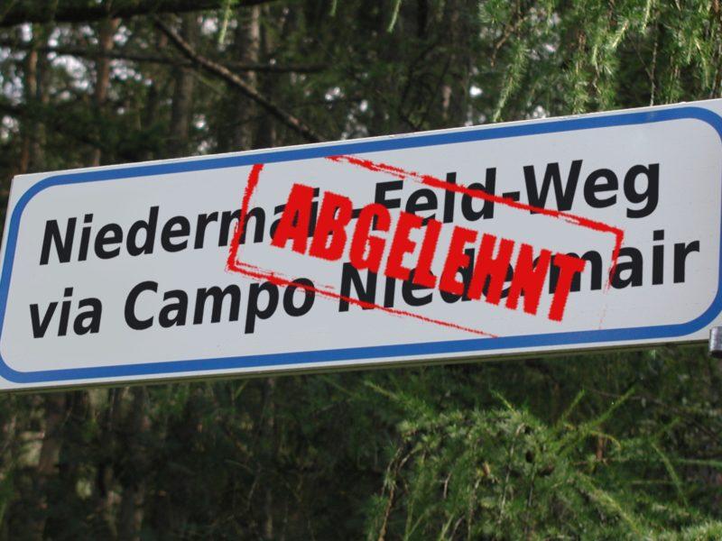 Niedermairfeld-Weg