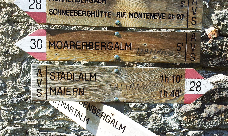 Durnwalder-Delrio-Abkommen: Bevormundung geht in die nächste Runde