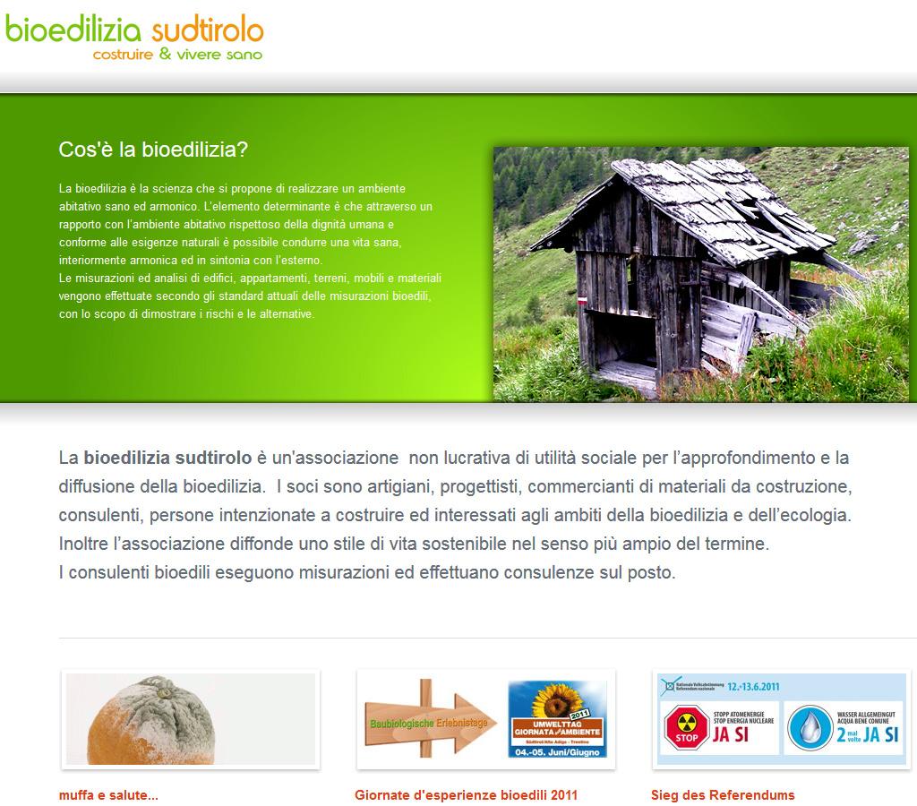 """Lob an die Baubiologen: Sudtirolo braucht kein """"Alto Adige"""""""
