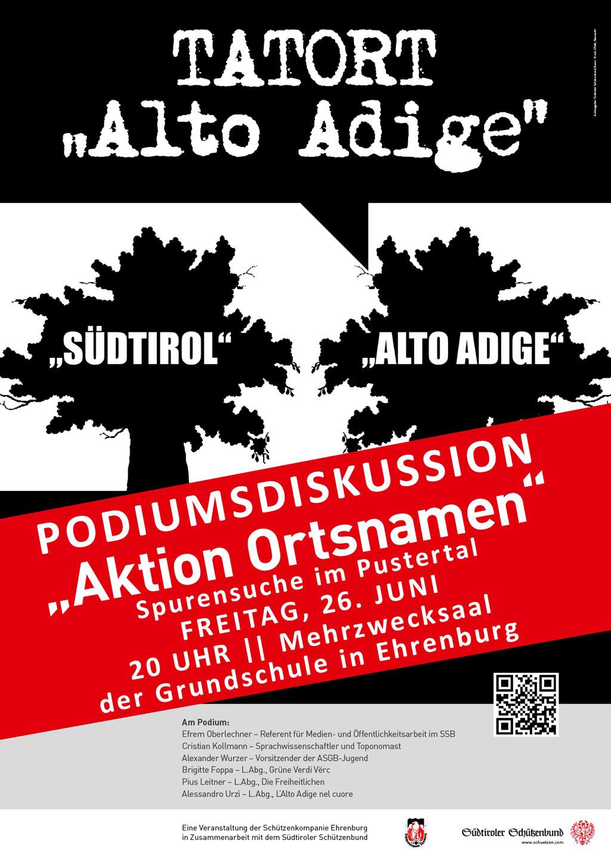 Aktion Ortsnamen – Spurensicherung im Pustertal